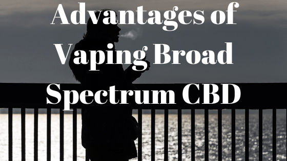 vaping broad spectrum cbd