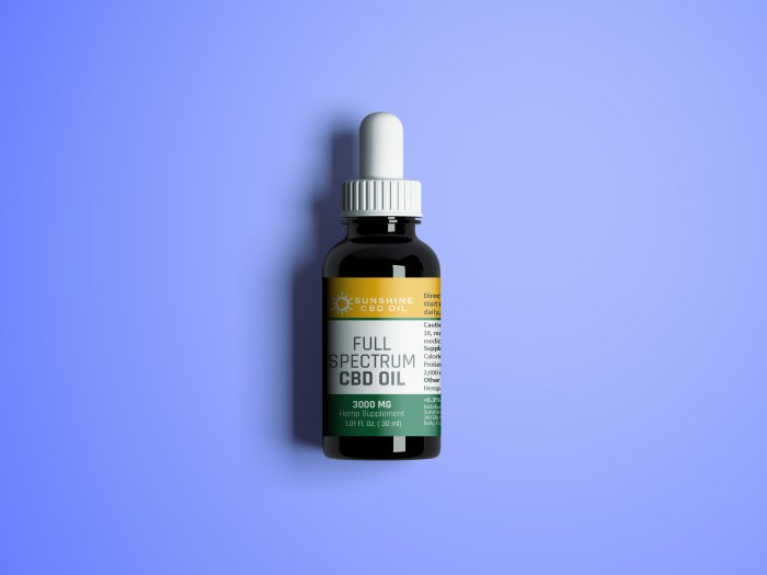 3000mg Full Spectrum Tincture