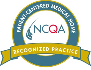 Logo for a National Center for Quality Assurance Patient Centered Medical Home Recognized Practice