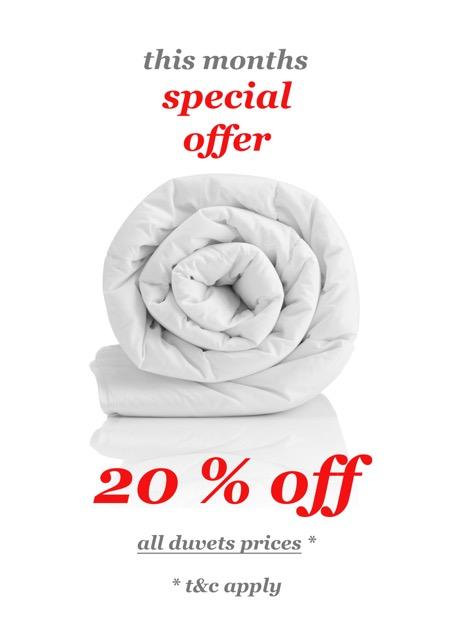 Special Offers - Duvet