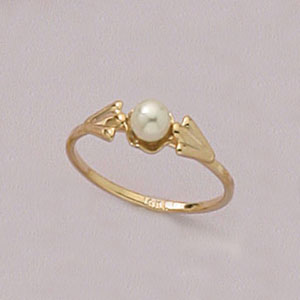 Petit Pearly Kids Ring  at www.SunshineJewelry.com