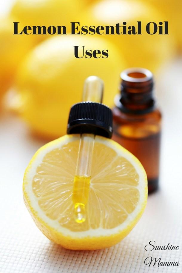 Lemon Essential Oil Uses