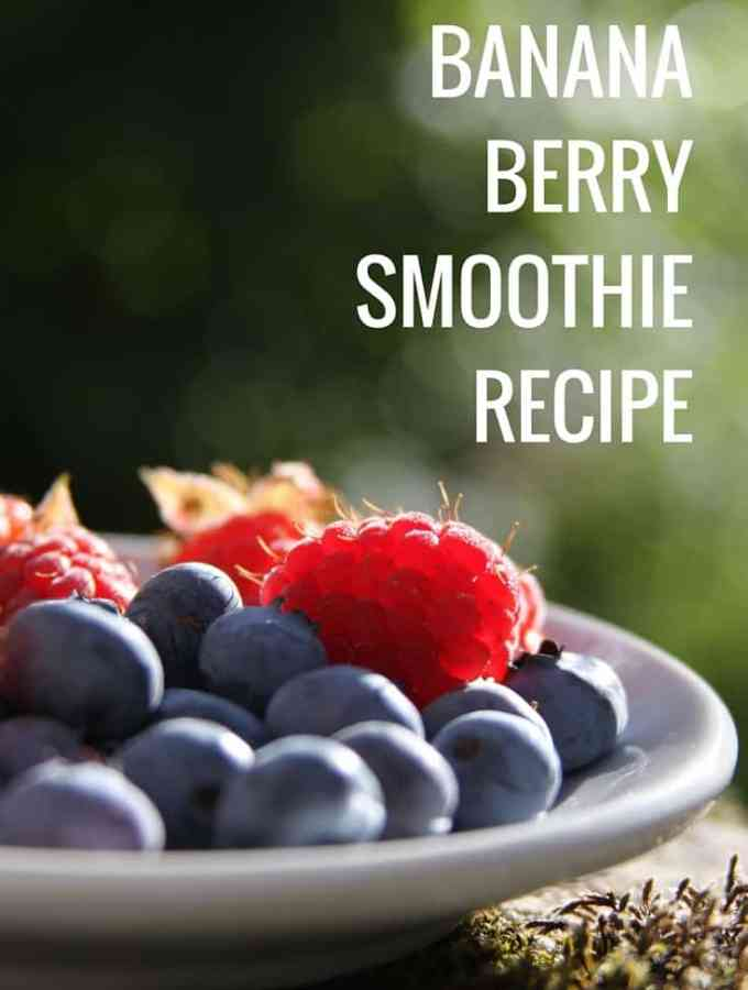 Banana Berry Smoothie Recipe