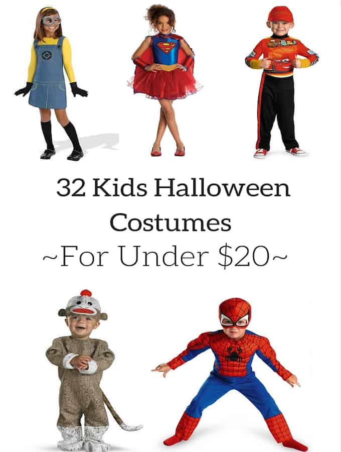 32 Kids Halloween Costumes for Under $20