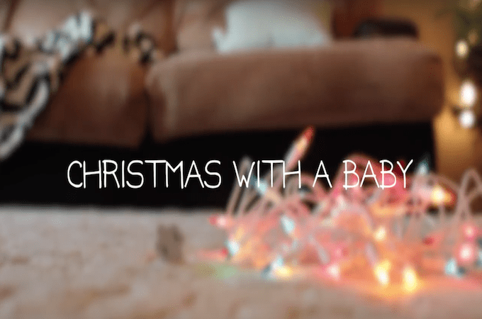 Christmas With a Baby… So Funny!