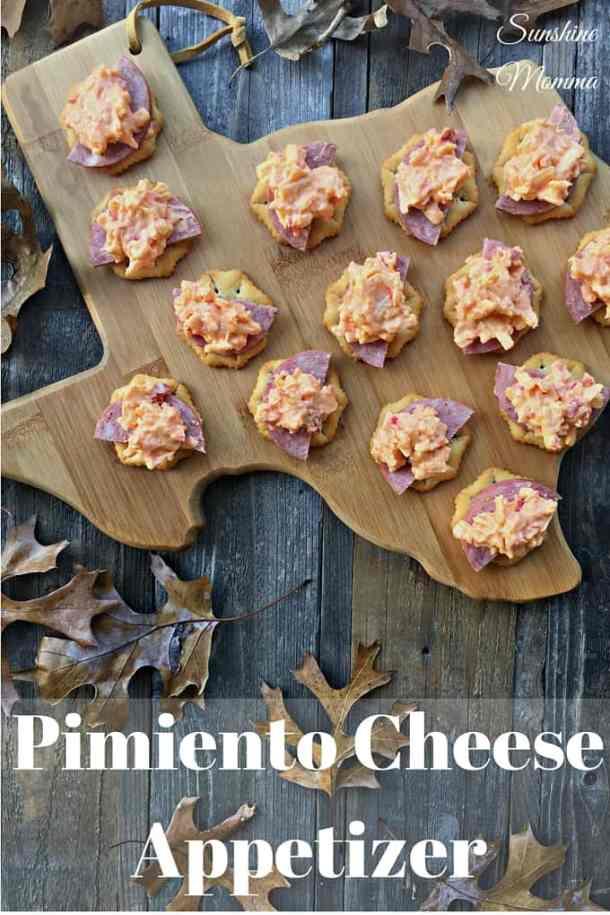 Pimiento Cheese Appetizer Recipe
