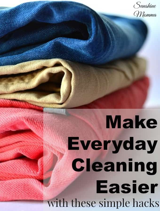 Making Everyday Cleaning Easier