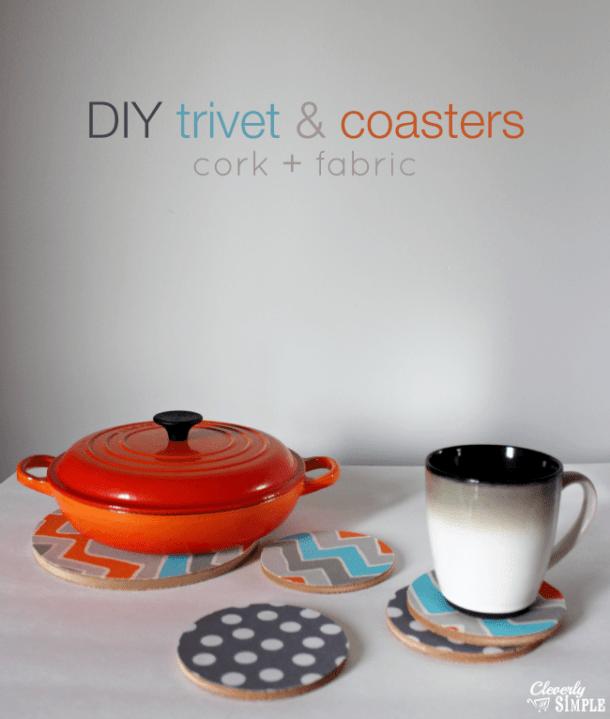 DIY Trivet & Coasters