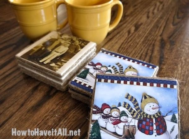 DIY Ceramic Coasters