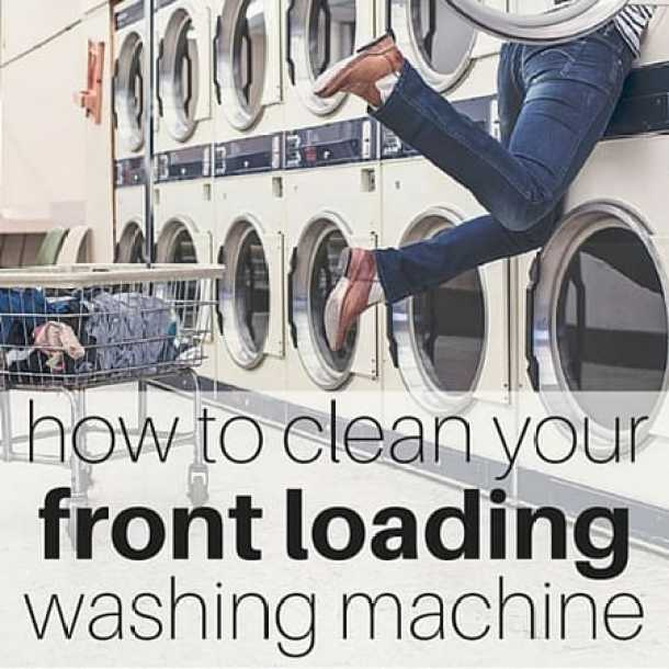 How to clean your front loading washing machine