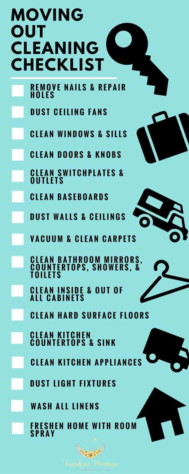 What to clean before moving out of your rent home