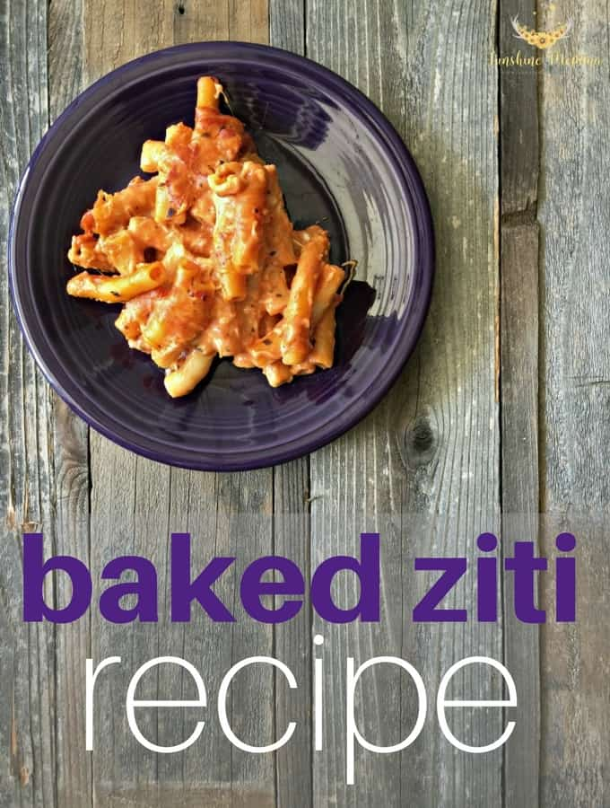 Baked Ziti Recipe