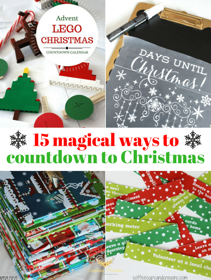 Christmas Countdown Ideas.15 Magical Christmas Countdown Ideas Sunshine Momma