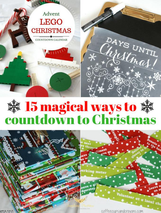 15 Magical Christmas Countdown Ideas
