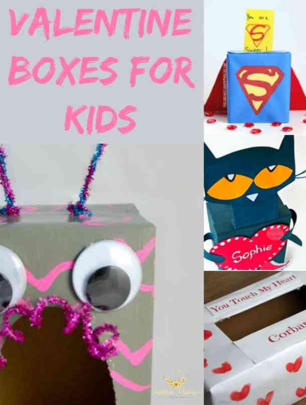 DIY Valentine Box for Kids