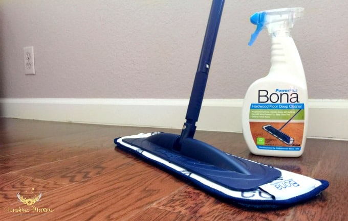 Deep cleaning your hardwood floors