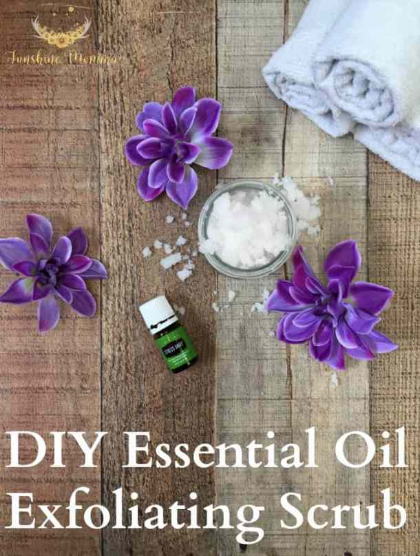 DIY Stress Away Exfoliating Scrub
