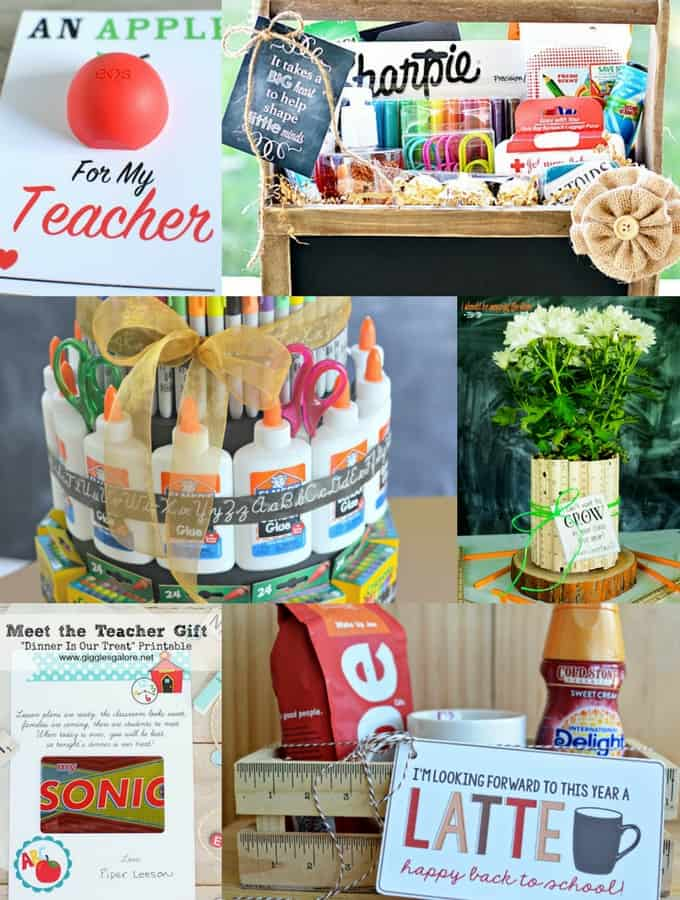 Back to School Teacher Gift Ideas