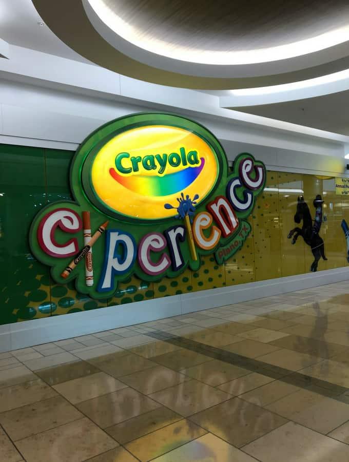 Crayola Experience in Plano, TX