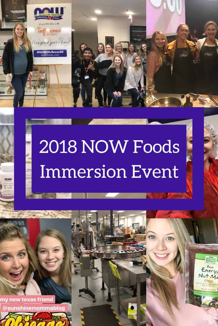 NOW Foods 2018 Immersion Event