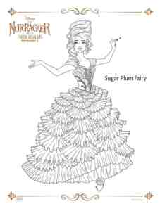 The Nutcracker and the Four Realms Coloring & Activity Sheets