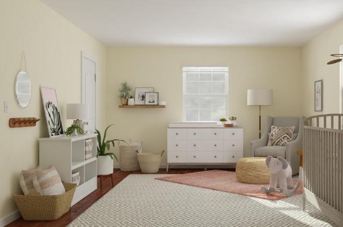 Warm & Neutral Girl Nursery