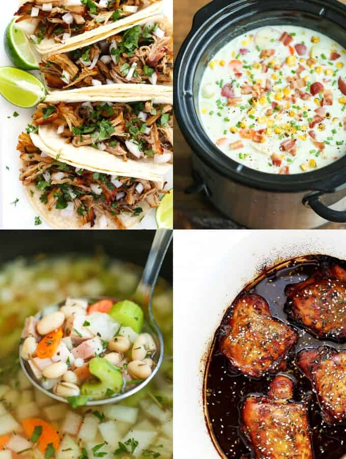30 Day Slow Cooker Meal Plan