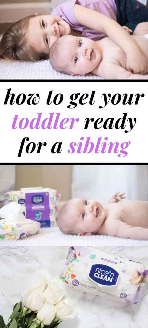 How to get your toddler ready for a sibling
