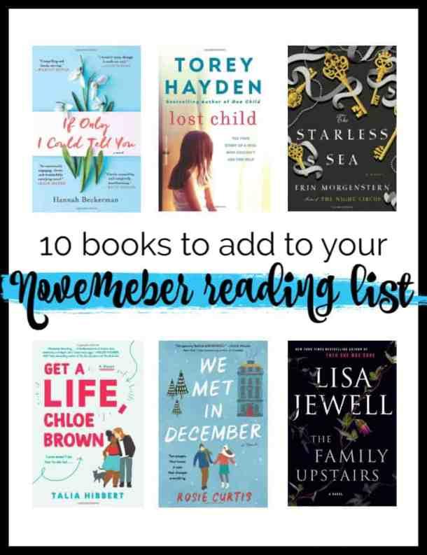 November Reading List