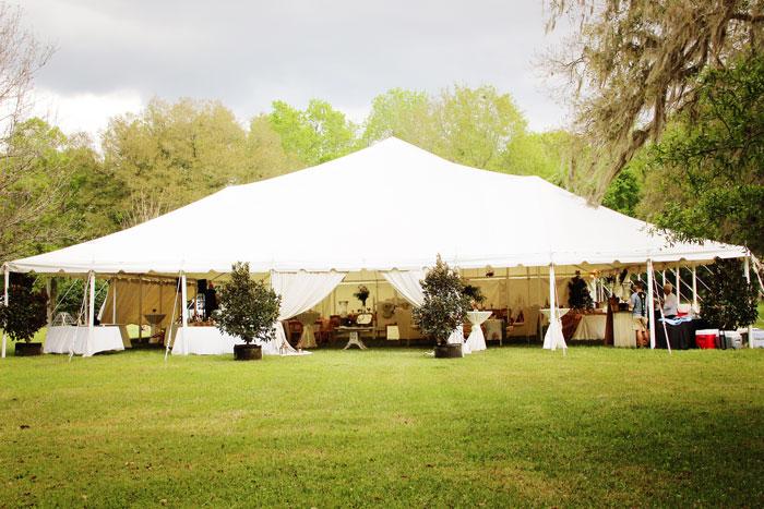 white-tent