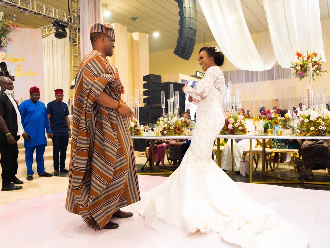 Akure agog as Akeredolu, Mimiko, Makinde attend Wedding of Jegede's Daughter