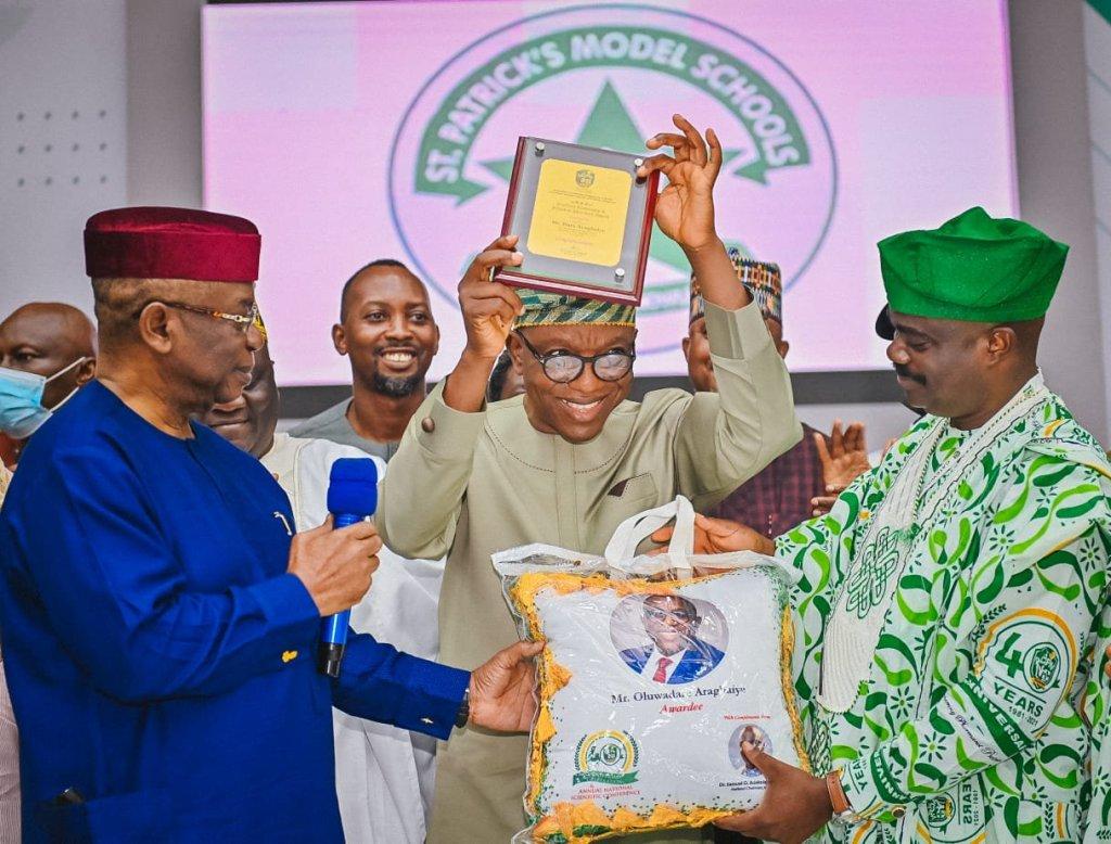 Pharmacists honour Ondo governor's SA, Aragbaiye, Sanwo-olu in Abeokuta