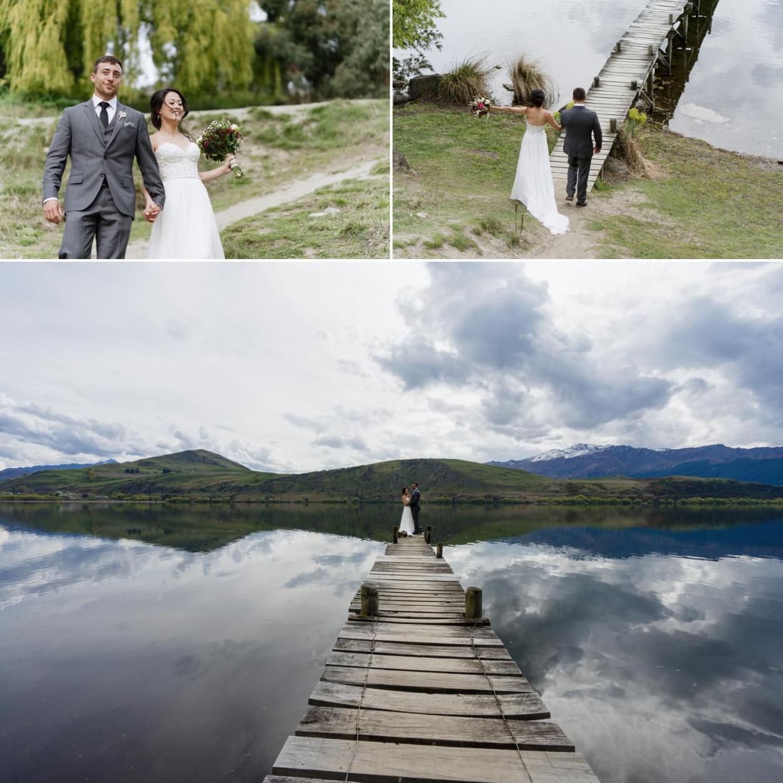 Lake hayes wedding
