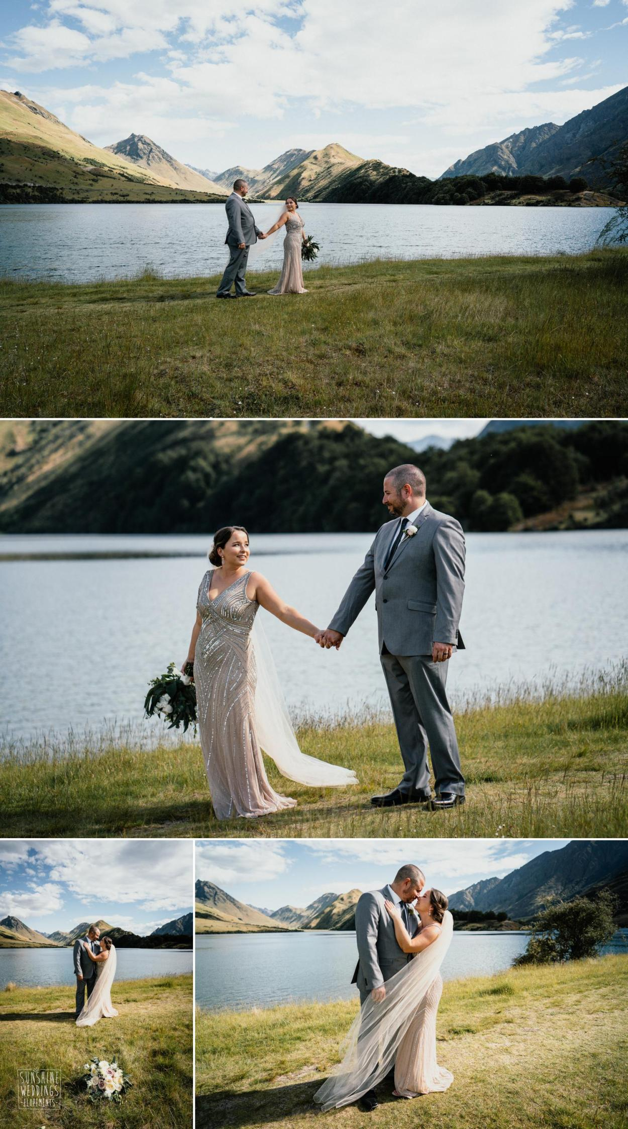 Moke Lake elopement photograpahy