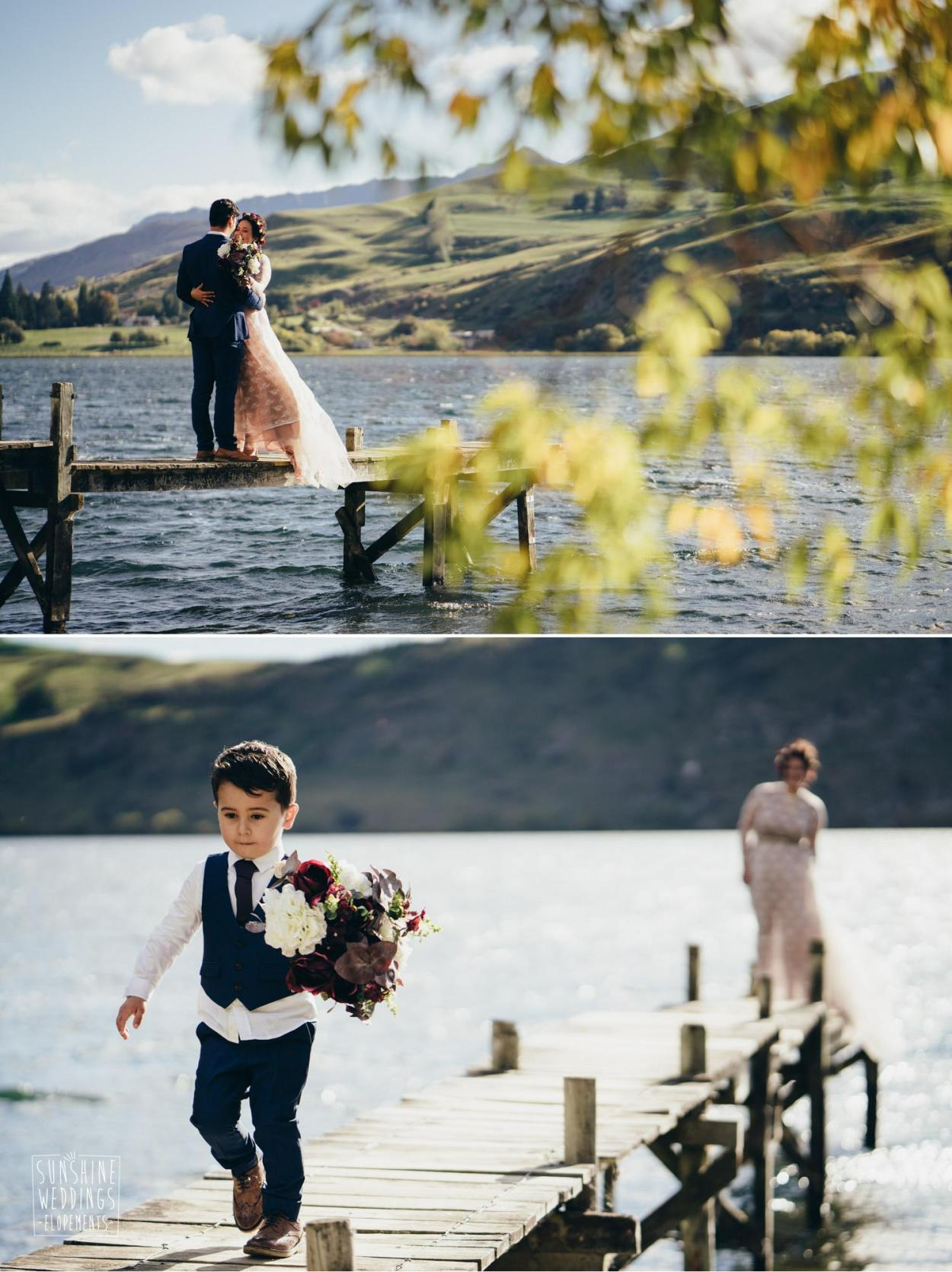 Elopement wedding photographer Queenstown
