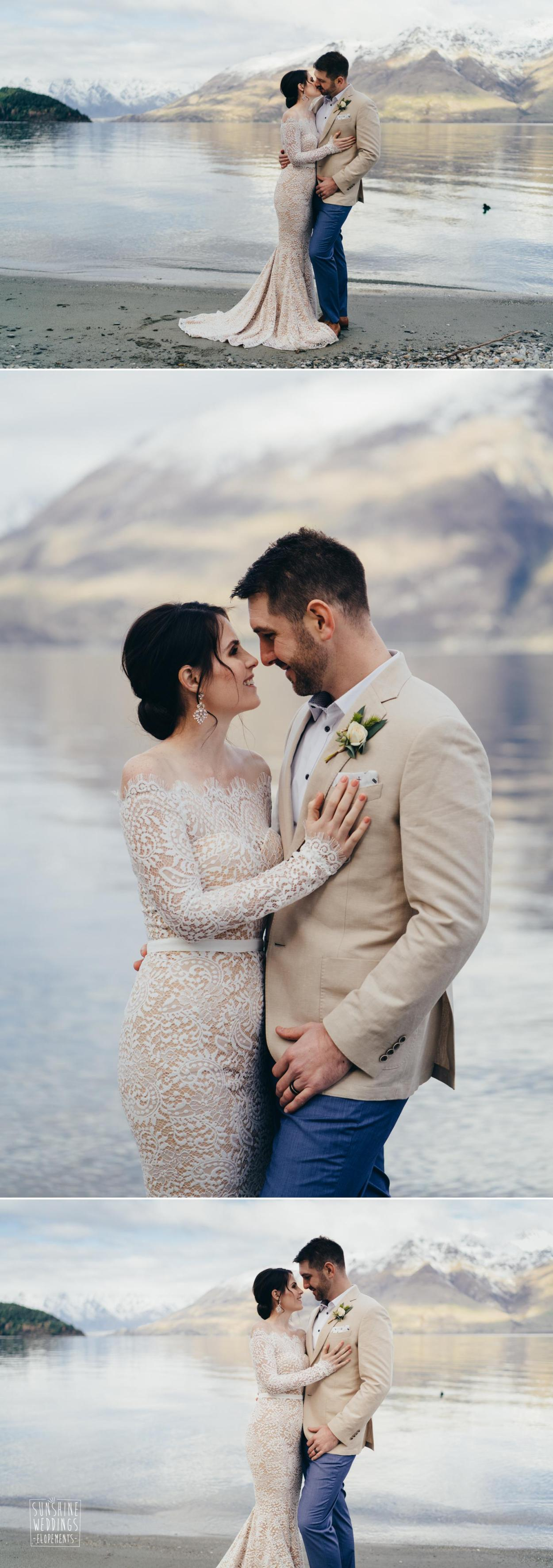 Elopement photographyer New Zealand