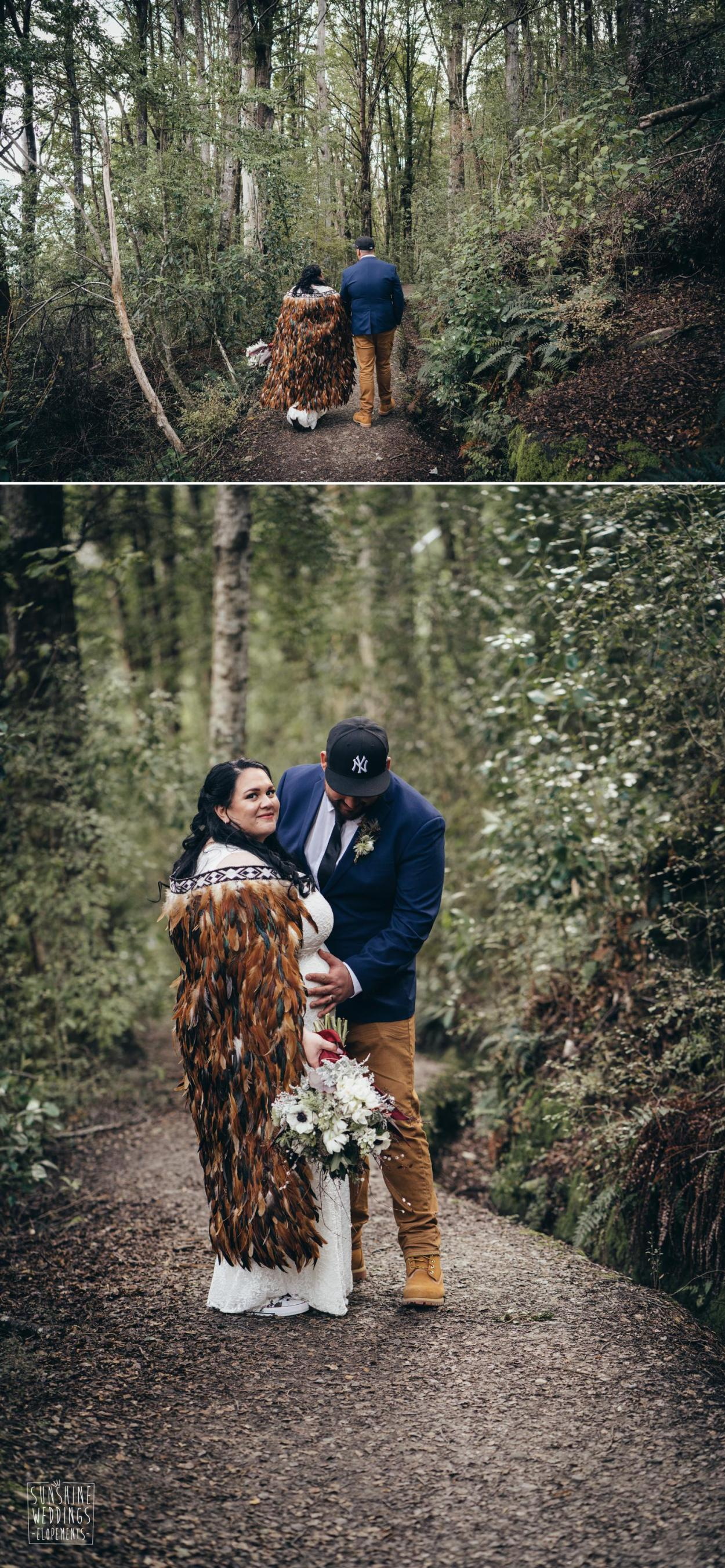 NZ bush wedding
