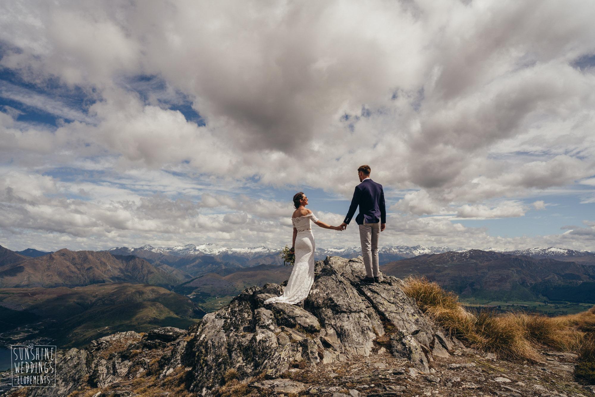 destination wedding on The Remarkables Queenstown