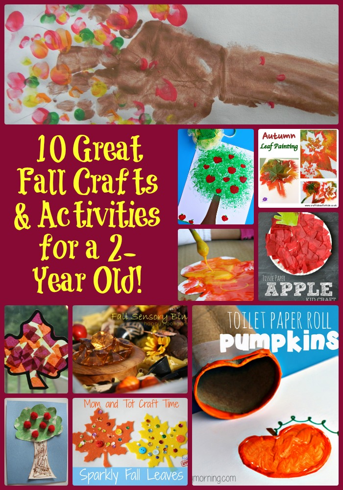 craft ideas for 1 year olds 10 great fall crafts amp activities for a 2 year 7530