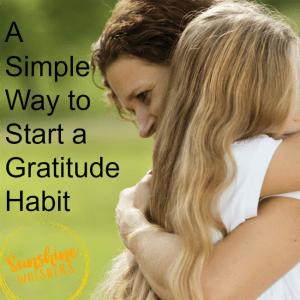 A Simple Way To Start A Gratitude Habit