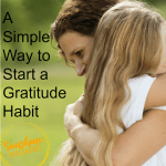 A Simple Way To Start A Gratitude Habit