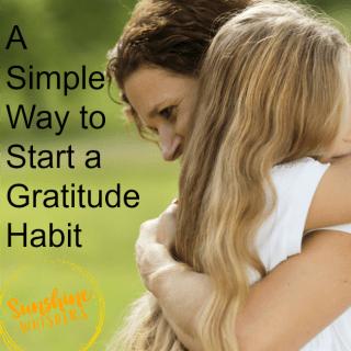 start a gratitude habit