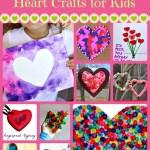 15 Adorable Valentine Heart Crafts for Kids