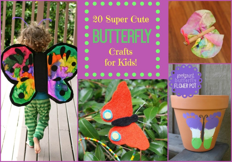 Butterfly Crafts for Kids