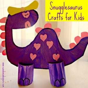 snugglesaurus dinosaur crafts for kids