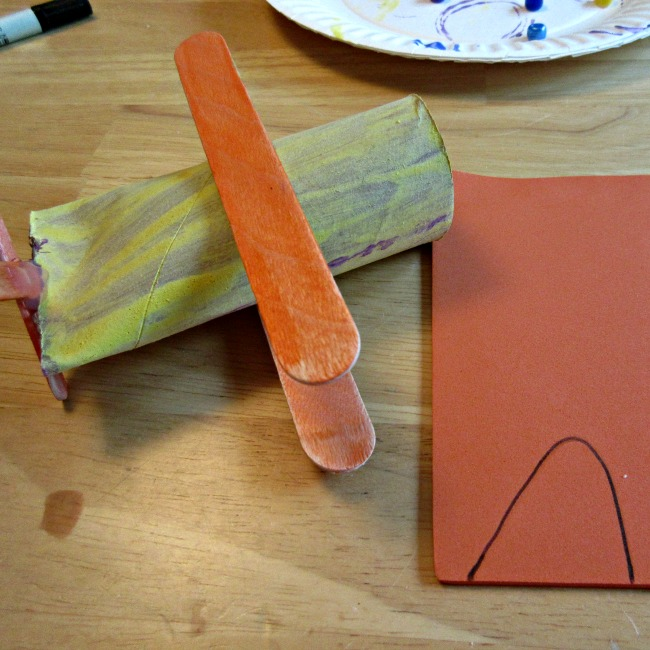 TToilet Paper Roll Airplane Crafts for Kids