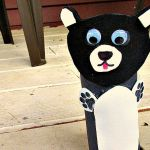 Panda Bear Zoo Animal Toilet Paper Roll Crafts for Kids