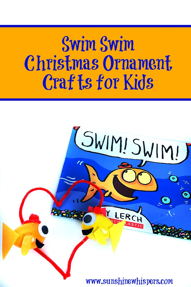 swim swim ornament crafts for kids 1