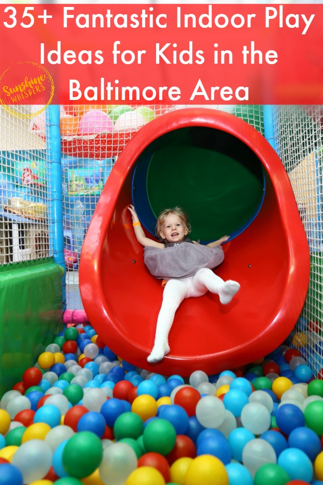 indoor play areas for kids in baltimore
