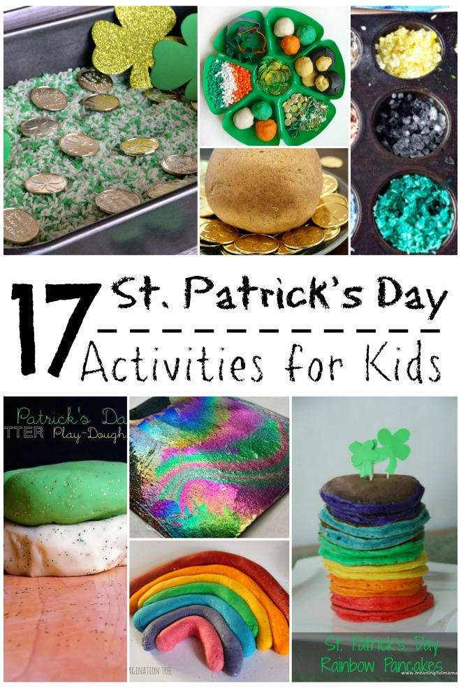 27 Super Fun St. Patrick's Day Crafts for Kids
